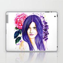 Pansy Flowers Laptop & iPad Skin