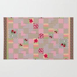 Rose Quilt Rug