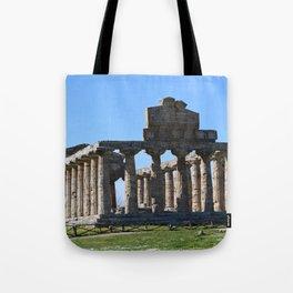 paestum Tote Bag
