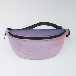 Sunset clouds Fanny Pack