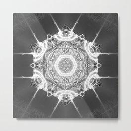 Electro Metal Print