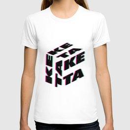 Ketamine keta   Rave drug techno raves gifts T-shirt