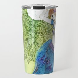 Belly Dancer Goddess Travel Mug