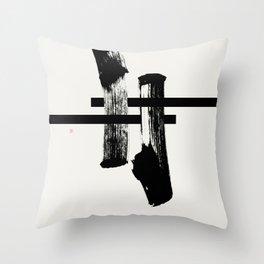 #torii (West Meets East Series) Throw Pillow