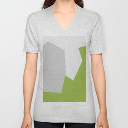 Minimalism Abstract Colors #13 Unisex V-Neck