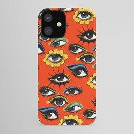 60s Eye Pattern iPhone Case