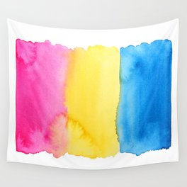Pansexual Flag Wall Tapestry