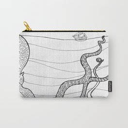 Kranken from the Bestiary Coloring Book Carry-All Pouch