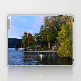 Autumn Arrives at the Lake Laptop & iPad Skin