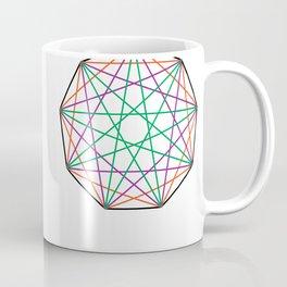 Nonagon Triad Coffee Mug