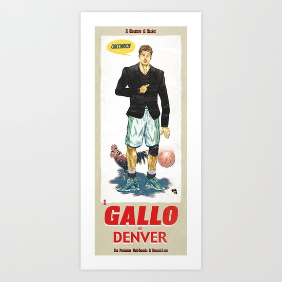 Gallo di Denver Art Print