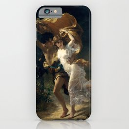 The Storm By Pierre Auguste Cot iPhone Case