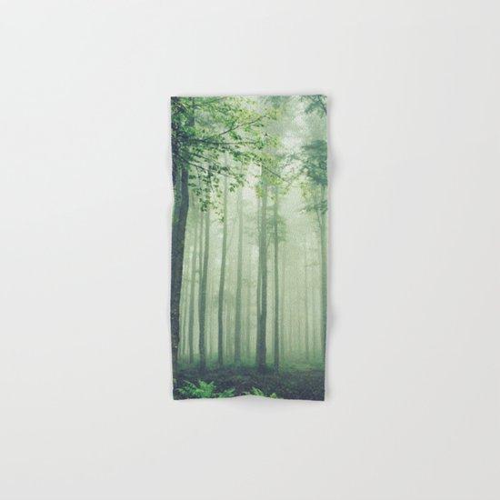 Foggy Woods Hand & Bath Towel