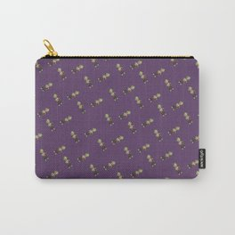Mini Liff Tiled (Purple) Carry-All Pouch