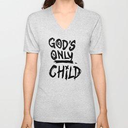 Gods Only Child Unisex V-Neck