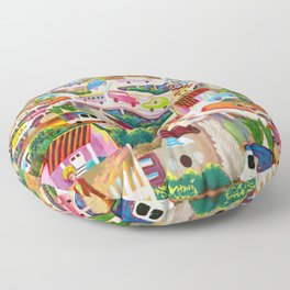 La Finikera (Phoenix) Floor Pillow