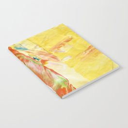 Abstraction - Sunny - by LiliFlore Notebook