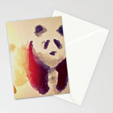 panda squish Stationery Cards