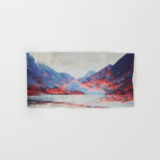 Fall Mountains Hand & Bath Towel