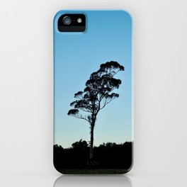 Not that Wanaka Tree, but Lone Tree from Te Anau iPhone Case