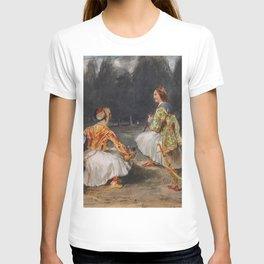 """Eugène Delacroix """"Two Greek soldiers in a clearing in a forest"""" T-shirt"""