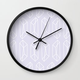 Almost Geometric Jewels Pattern 2 - 1 Wall Clock