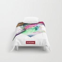 Glitchin Sane 001 Comforters
