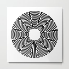 Itsmaths² Labyrinth Metal Print
