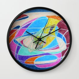 Unraveled Wall Clock