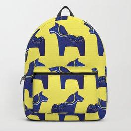 Dala Horse Pattern Backpack
