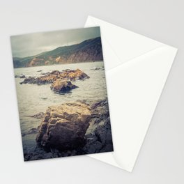 Rocks Into The Sea Stationery Cards