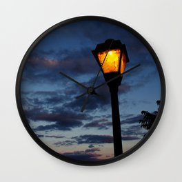 Light the Way Wall Clock
