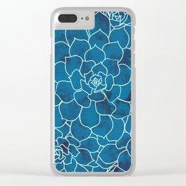 A Sea of Sedum Clear iPhone Case