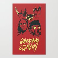 guardians Canvas Prints featuring Guardians by Virtual Window