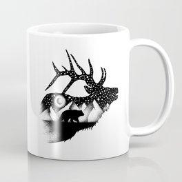 THE ELK AND THE BEAR Coffee Mug