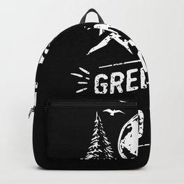Green World - Camping Backpack