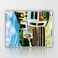 Bright blue sky, bright colors. Laptop & iPad Skin