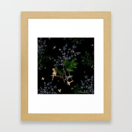 Monkey World: Apy and Vinnie Framed Art Print