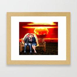Nuke Cola Framed Art Print