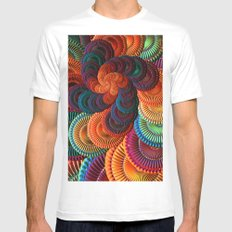 The Coasters MEDIUM White Mens Fitted Tee
