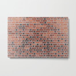 Red Brick Metal Print