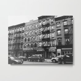Greenwich Village Street View Metal Print