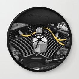 Harley V  Wall Clock
