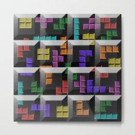 Tetris author print Metal Print