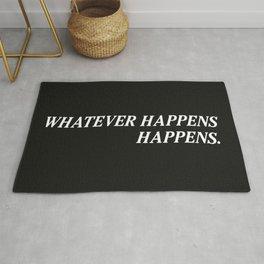 Whatever Happens Happens. Rug