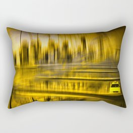 City-Shapes NYC Rectangular Pillow
