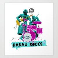 Hanau Rocks Art Print