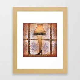 Fra-gee-lay Framed Art Print