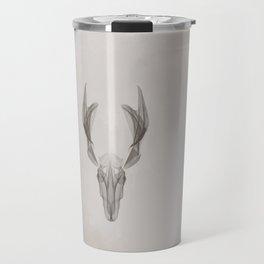 Abstract Deer Travel Mug