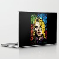 kurt cobain Laptop & iPad Skins featuring Nevermind Kurt  by brett66